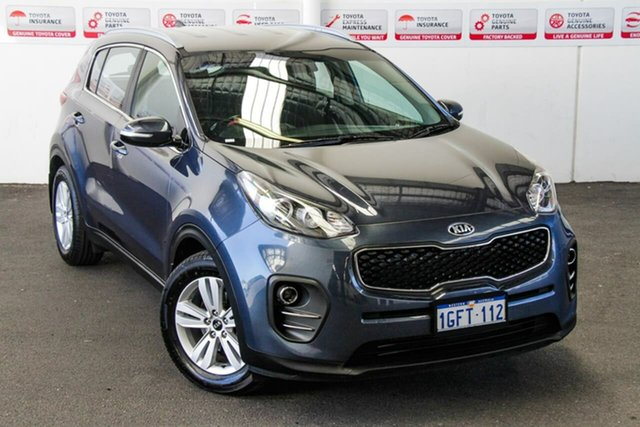 Pre-Owned Kia Sportage QL MY17 SI (FWD) Rockingham, 2017 Kia Sportage QL MY17 SI (FWD) Blue 6 Speed Automatic Wagon
