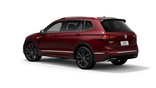 2020 Volkswagen Tiguan 5N MY21 162TSI Highline DSG 4MOTION Allspace Red 7 Speed.