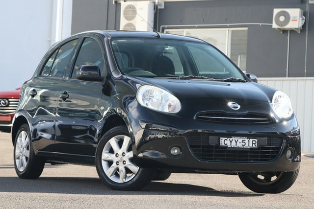 Used Nissan Micra K13 MY13 ST-L Brookvale, 2014 Nissan Micra K13 MY13 ST-L Black 5 Speed Manual Hatchback
