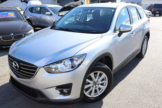 Used Mazda CX-5 KE1072 Maxx SKYACTIV-Drive Sport Moorooka, 2016 Mazda CX-5 KE1072 Maxx SKYACTIV-Drive Sport Silver 6 Speed Sports Automatic Wagon