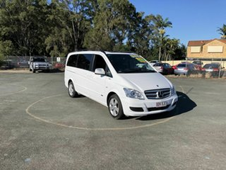 2013 Mercedes-Benz Viano 639 MY12 BlueEFFICIENCY White 5 Speed Automatic Wagon.
