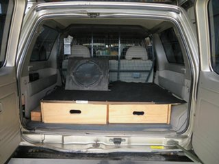 2002 Nissan Patrol GU III ST Plus (4x4) Gold 5 Speed Auto Sports Shift Wagon