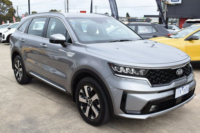 Used Kia Sorento MQ4 MY21 Sport AWD Ferntree Gully, 2020 Kia Sorento MQ4 MY21 Sport AWD Steel Grey 8 Speed Sports Automatic Dual Clutch Wagon