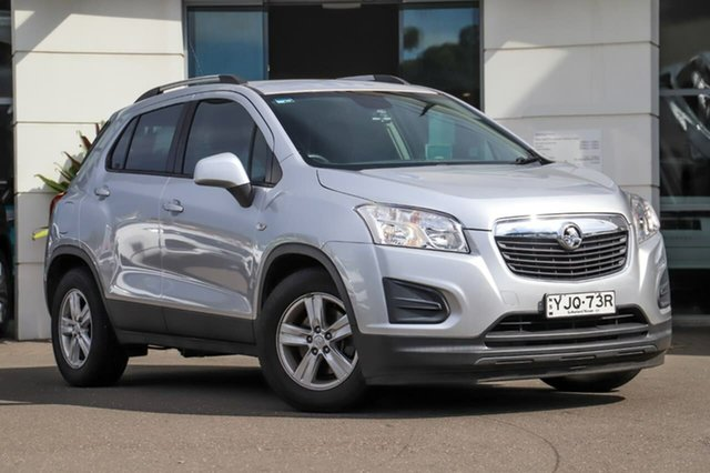 Used Holden Trax TJ MY16 LS Sutherland, 2016 Holden Trax TJ MY16 LS Silver, Chrome 6 Speed Automatic Wagon