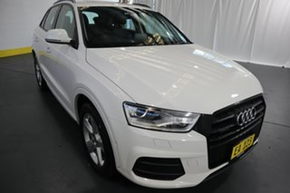 2017 Audi Q3 8U MY17 TFSI S Tronic Quattro Sport White 7 Speed Sports Automatic Dual Clutch Wagon.
