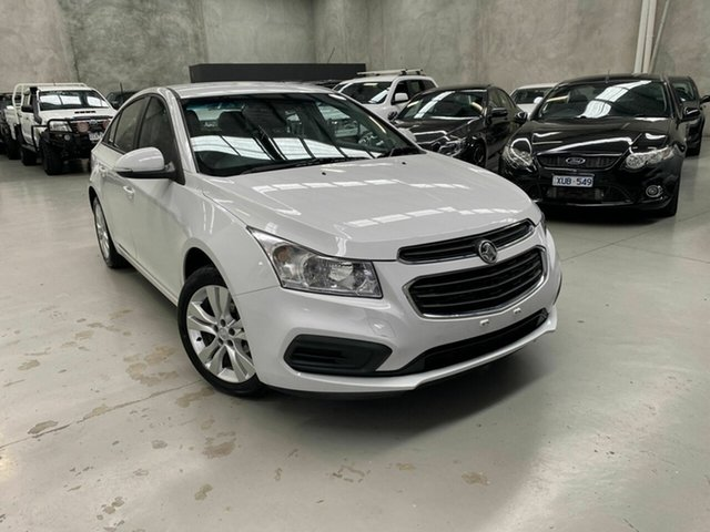Used Holden Cruze JH Series II MY15 Equipe Coburg North, 2015 Holden Cruze JH Series II MY15 Equipe White 6 Speed Sports Automatic Sedan