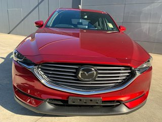 2021 Mazda CX-8 KG2WLA Sport SKYACTIV-Drive FWD Soul Red Crystal 6 Speed Sports Automatic Wagon