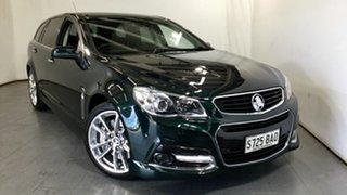 2014 Holden Commodore VF MY14 SS V Sportwagon Redline Green 6 Speed Sports Automatic Wagon.