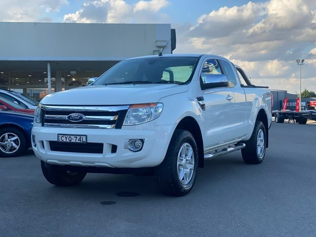 Used Ford Ranger Goulburn, 2015 Ford Ranger XLT - Hi-Rider White Sports Automatic Utility - Extended Cab