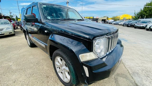 Used Jeep Cherokee KK MY10 Limited Maidstone, 2010 Jeep Cherokee KK MY10 Limited Black 4 Speed Automatic Wagon