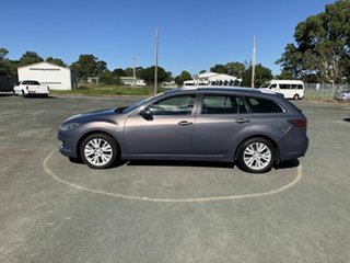 2008 Mazda 6 GH1051 Classic Grey 5 Speed Sports Automatic Wagon.