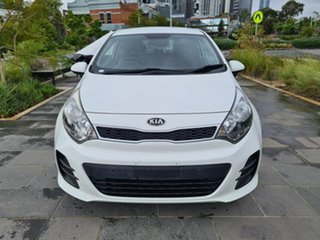 2015 Kia Rio UB MY16 S White 4 Speed Sports Automatic Hatchback