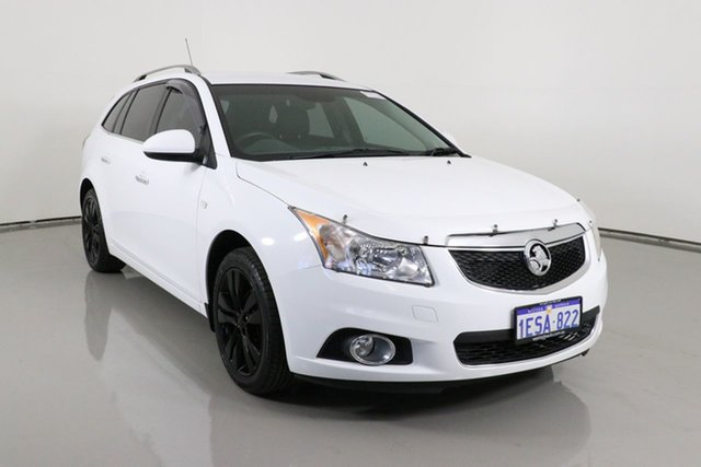 Used Holden Cruze JH MY14 CDX Bentley, 2013 Holden Cruze JH MY14 CDX White 6 Speed Automatic Sportswagon