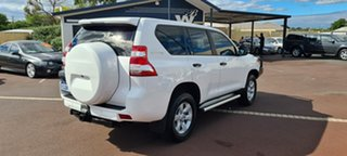 2013 Toyota Landcruiser Prado KDJ150R MY14 GX White 5 Speed Sports Automatic Wagon