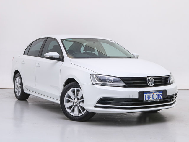 Used Volkswagen Jetta 1KM MY16 118 TSI Trendline, 2016 Volkswagen Jetta 1KM MY16 118 TSI Trendline White 6 Speed Manual Sedan
