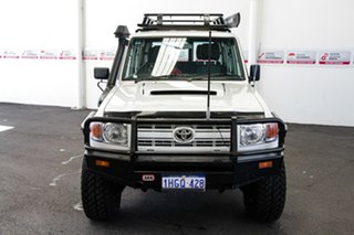 2008 Toyota Landcruiser VDJ76R Workmate (4x4) French Vanilla 5 Speed Manual Wagon