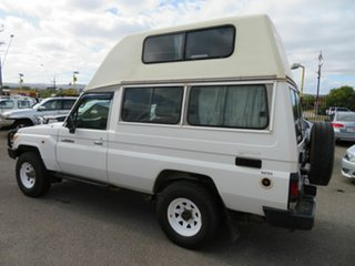 2012 Toyota Landcruiser VDJ78R MY12 Update Workmate (4x4) 3 Seat White 5 Speed Manual TroopCarrier