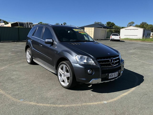 Used Mercedes-Benz M-Class W164 MY10 ML300 CDI BlueEFFICIENCY Kippa-Ring, 2009 Mercedes-Benz M-Class W164 MY10 ML300 CDI BlueEFFICIENCY Grey 7 Speed Sports Automatic Wagon