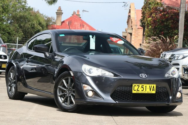 Pre-Owned Toyota 86 ZN6 MY14 GT Mosman, 2014 Toyota 86 ZN6 MY14 GT Tornado Grey 6 Speed Manual Coupe