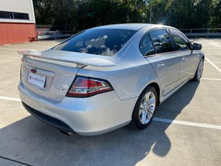 2008 Ford Falcon FG XR6 Silver 6 Speed Auto Seq Sportshift Sedan.