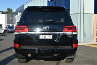 2016 Toyota Landcruiser VDJ200R VX Black 6 Speed Sports Automatic Wagon