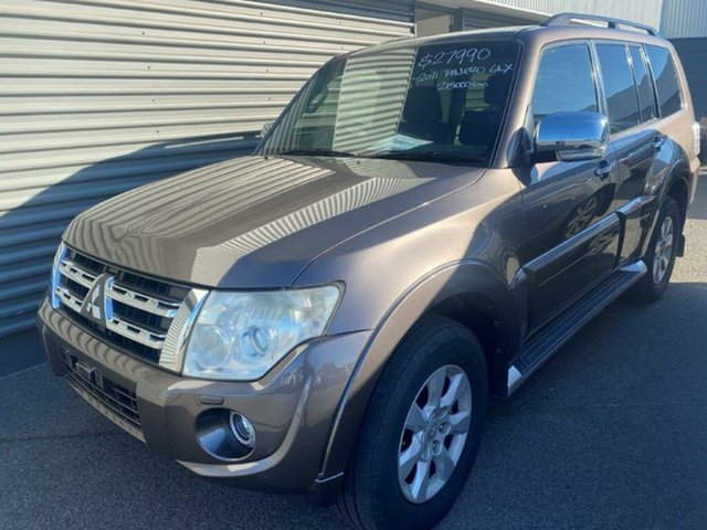Used Mitsubishi Pajero NW MY12 GLX Gladstone, 2011 Mitsubishi Pajero NW MY12 GLX Brown 5 Speed Sports Automatic Wagon