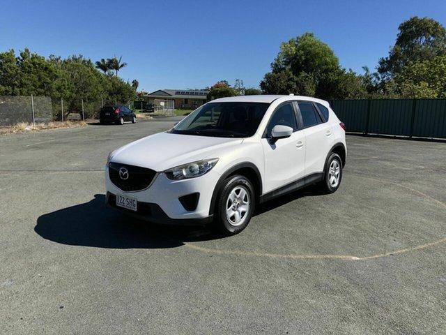 Used Mazda CX-5 KE1071 Maxx SKYACTIV-Drive AWD Kippa-Ring, 2012 Mazda CX-5 KE1071 Maxx SKYACTIV-Drive AWD White 6 Speed Sports Automatic Wagon