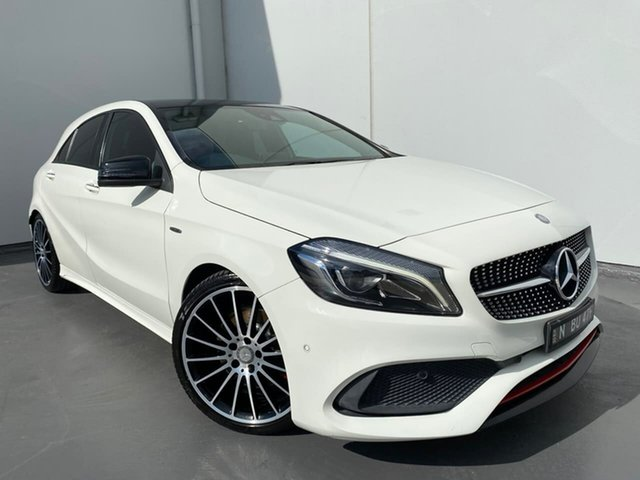Used Mercedes-Benz A-Class W176 807MY A250 D-CT 4MATIC Sport Liverpool, 2016 Mercedes-Benz A-Class W176 807MY A250 D-CT 4MATIC Sport White 7 Speed