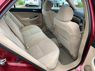 2007 Honda Accord 40 MY06 Upgrade VTi-L Sparkling Burgundy 5 Speed Automatic Sedan