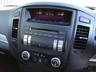2011 Mitsubishi Pajero NT MY11 GLX White 5 Speed Sports Automatic Wagon
