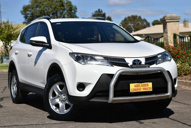 Used Toyota RAV4 ASA44R GX AWD Enfield, 2015 Toyota RAV4 ASA44R GX AWD White 6 Speed Sports Automatic Wagon