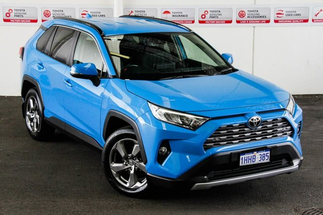 Pre-Owned Toyota RAV4 Mxaa52R GXL 2WD Rockingham, 2020 Toyota RAV4 Mxaa52R GXL 2WD Eclectic Blue 10 Speed Constant Variable Wagon