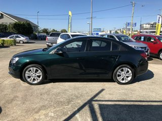 2015 Holden Cruze JH Series II MY15 Equipe Green 6 Speed Sports Automatic Sedan.