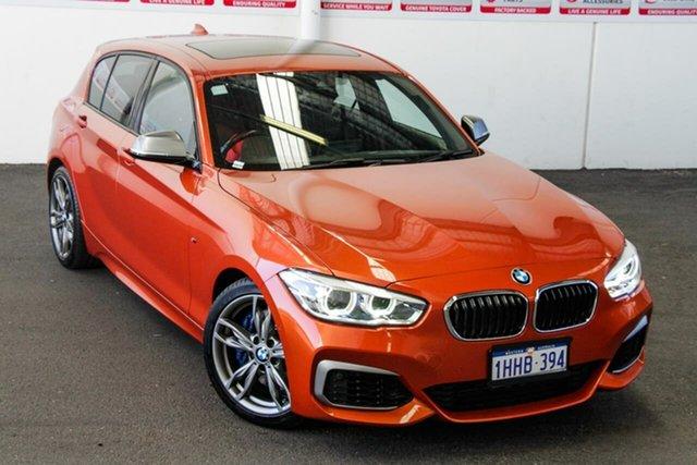 Pre-Owned BMW M135i F20 LCI Rockingham, 2015 BMW M135i F20 LCI Orange 8 Speed Automatic Hatchback