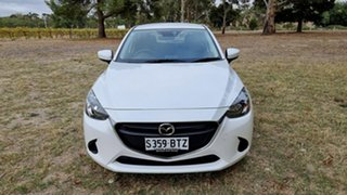 2018 Mazda 2 DJ2HAA Neo SKYACTIV-Drive White 6 Speed Sports Automatic Hatchback.