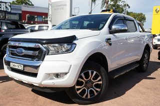 2018 Ford Ranger PX MkII MY18 XLT 3.2 (4x4) White 6 Speed Automatic Double Cab Pick Up.