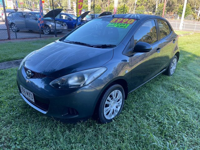 Used Mazda 2 DE10Y1 MY10 Neo Clontarf, 2010 Mazda 2 DE10Y1 MY10 Neo Grey 5 Speed Manual Hatchback
