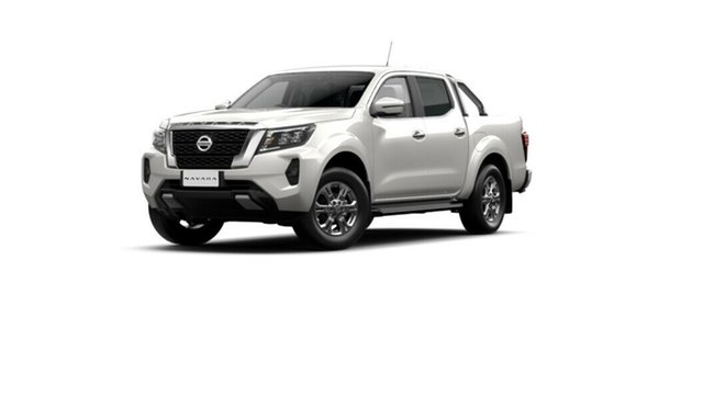 New Nissan Navara D23 MY21 ST Moorooka, 2021 Nissan Navara D23 MY21 ST White Pearl 6 Speed Manual Utility