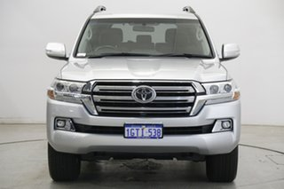 2019 Toyota Landcruiser VDJ200R GXL Silver 6 Speed Sports Automatic Wagon.