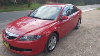 2007 Mazda 6 GG10R2 MZR-CD Red 6 Speed Manual Hatchback.