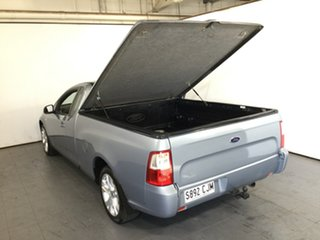 2008 Ford Falcon FG Ute Super Cab Silver 4 Speed Sports Automatic Utility