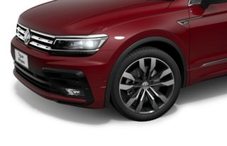 2020 Volkswagen Tiguan 5N MY21 162TSI Highline DSG 4MOTION Allspace Red 7 Speed