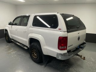 2013 Volkswagen Amarok 2H MY13 TDI420 4Motion Perm Highline White 8 Speed Automatic Utility