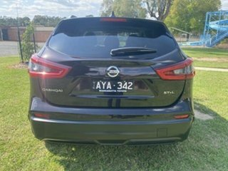 2018 Nissan Qashqai J11 MY18 ST-L Purple Continuous Variable Wagon