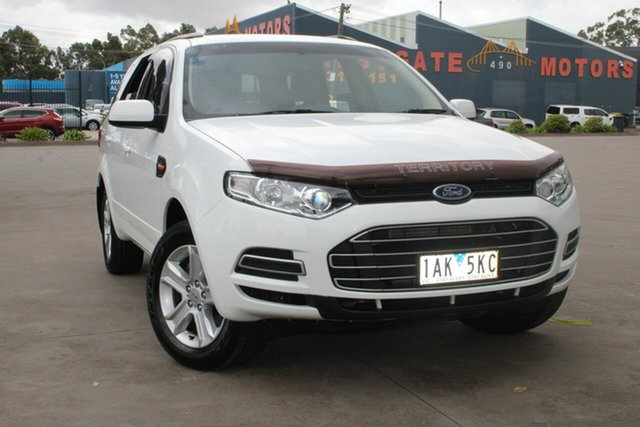 Used Ford Territory SZ TX (RWD) West Footscray, 2013 Ford Territory SZ TX (RWD) White 6 Speed Automatic Wagon
