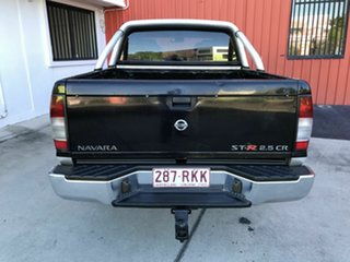 2011 Nissan Navara D22 MY2010 ST-R Black 5 Speed Manual Utility