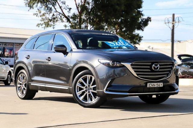 Used Mazda CX-9 TC GT SKYACTIV-Drive Kirrawee, 2017 Mazda CX-9 TC GT SKYACTIV-Drive Grey 6 Speed Sports Automatic Wagon