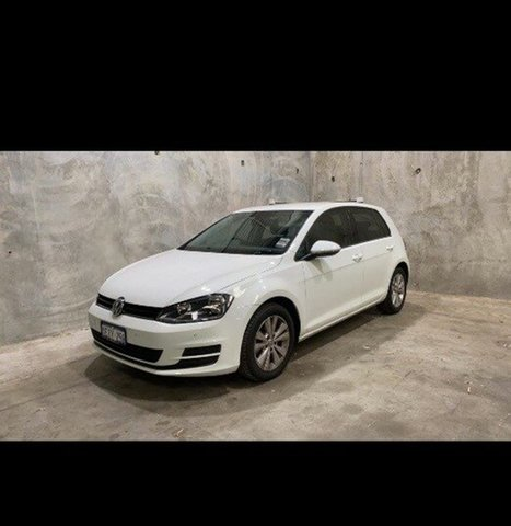 Used Volkswagen Golf VII 90TSI DSG Comfortline Edgewater, 2013 Volkswagen Golf VII 90TSI DSG Comfortline White 7 Speed Sports Automatic Dual Clutch Hatchback