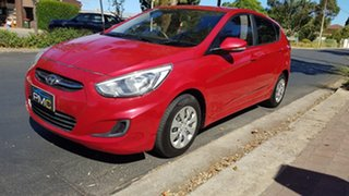 2016 Hyundai Accent RB3 MY16 Active Burgundy 6 Speed CVT Auto Sequential Hatchback