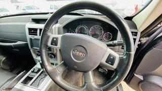 2010 Jeep Cherokee KK MY10 Limited Black 4 Speed Automatic Wagon